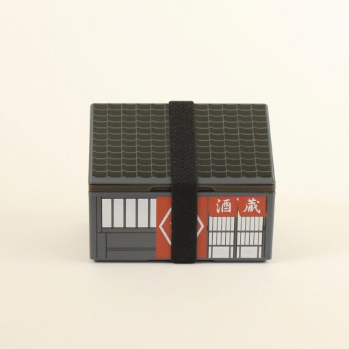 Bentobox matlåda hus
