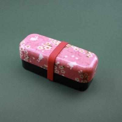 Matlåda Bentobox rosa kanin