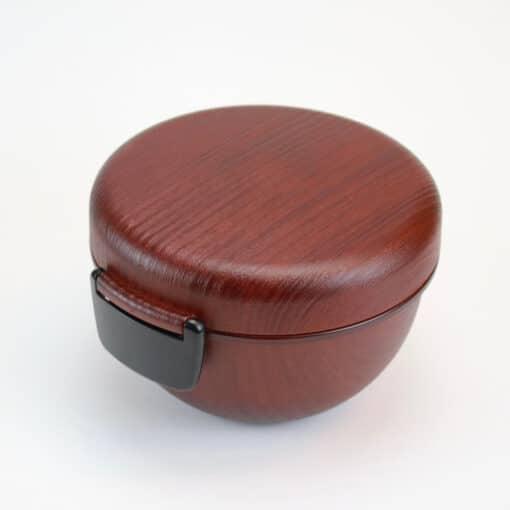 Bentobox rund trä