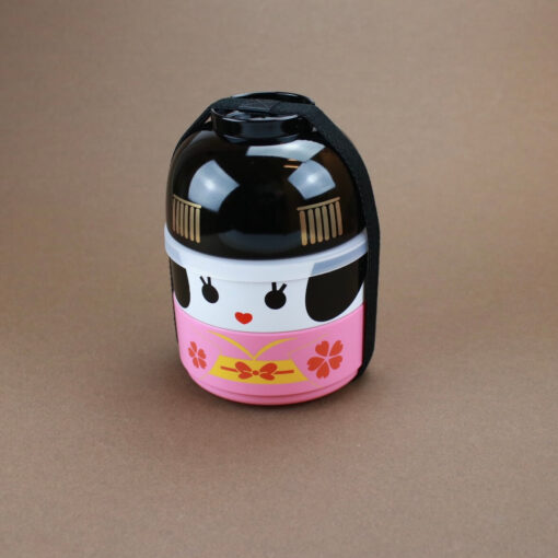 Matlåda Bentobox Kokeshi rosa